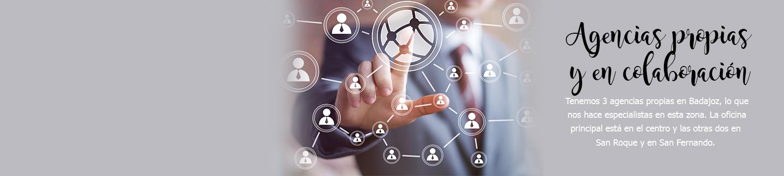 Agencias propias y en colaboración
